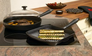 Faites griller vos viandes et légumes sur grill