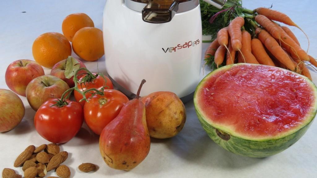 jus pressés vitaminé avec versapers