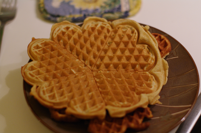 recette de gaufre maison dans gaufrier en fonte skeppshult. Black Bedroom Furniture Sets. Home Design Ideas
