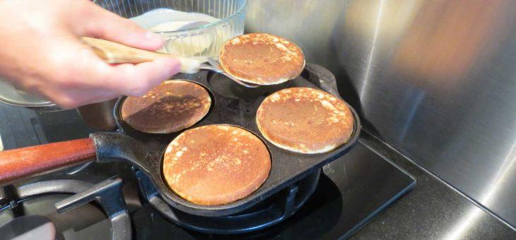 Des pancakes tout chaud !