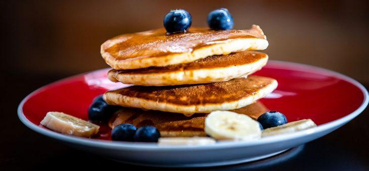 Pancakes sans gluten et végan